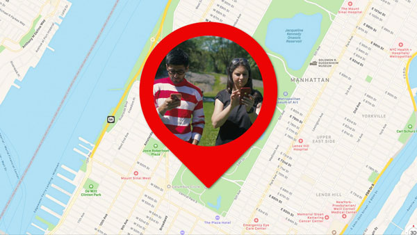 How to find my friend location using Google Map?