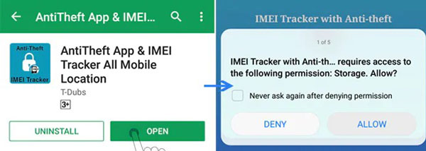 How to track lost mobile with IMEI number?