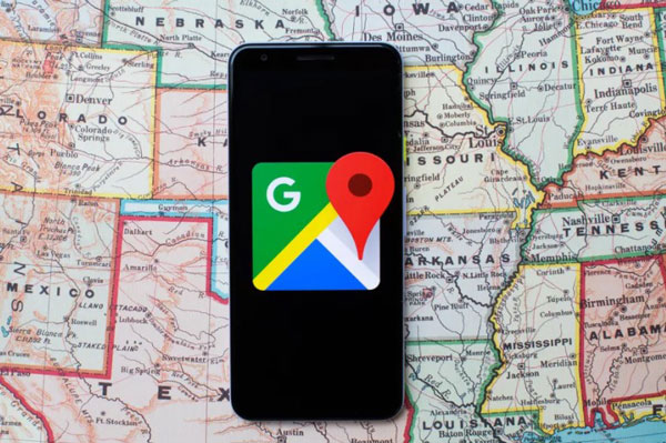 How to find current location of mobile number in Google maps online?