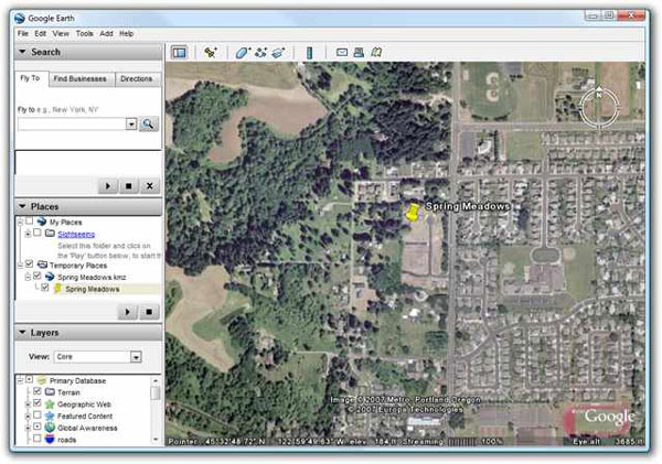 How to track a cell phone using Google Earth for free?