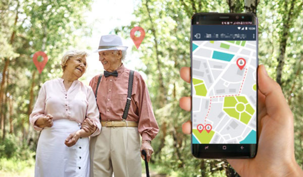 How can I track my senior parents' location?