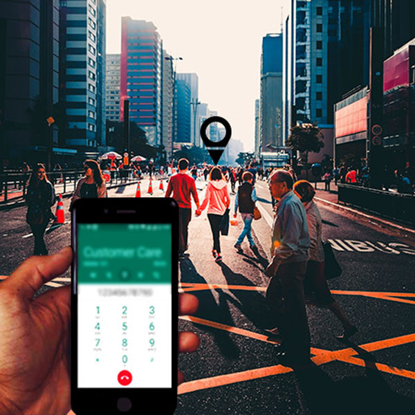 How to track someone's location via phone number?