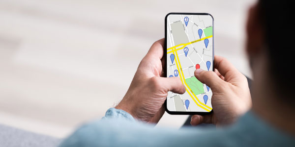 How to tell if my phone is being located?